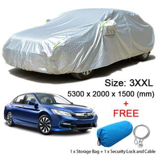(Size 3XXL) Sedan Car Cover Rain & Dust Resistant, Sunlight & Weather Protection