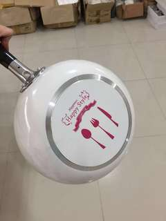 Korean Non-stick Deep-frying Pan 24cm