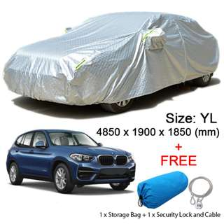 (Size YL) SUV Car Cover Rain, Dust Resistant, Sunlight, Weather Protection