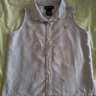 Branded Sleeveless Shirt for girl