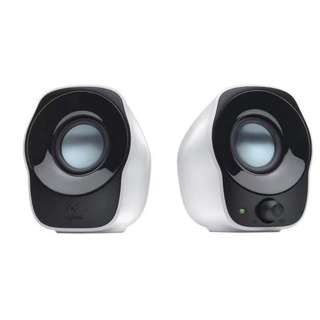 Logitech USB Powered Stereo Speakers Z120 (Black&White)