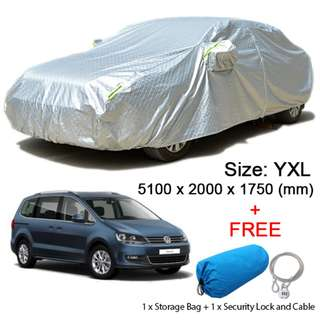 (Size YXL) SUV Car Cover Rain, Dust Resistant, Sunlight UV Weather Protection