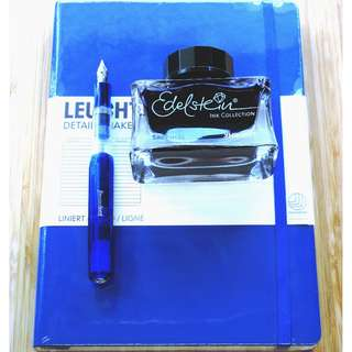 Kaweco Fountain Pen Set With Pelikan ink and Leuchtturm1917 NoteBook (199000)