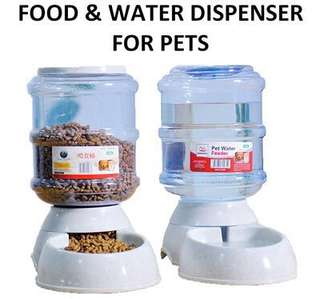 Food & water dispenser