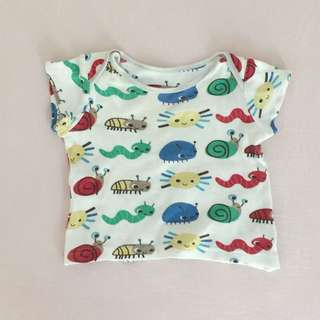 Mothercare baby clothing tops