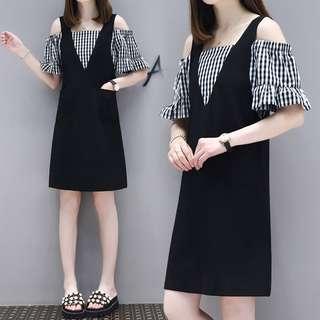 Pre-order shoulder dress