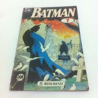 Batman No.7 - Misurind tahun 1991