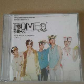 "Shinee ""Romeo"" CD"