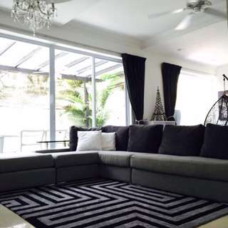 Master Bedroom with attached bathroom for Rent at Kew Green Townhouse