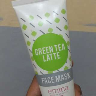 EMINA GREEN TEA LATTE MASK