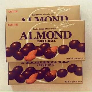 Lotte almond chocolate ball