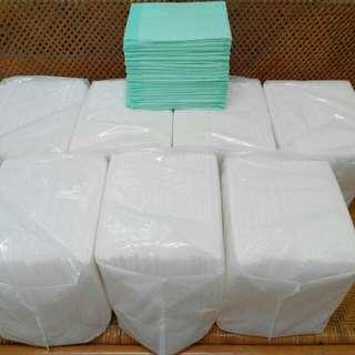 全新-寵物尿墊7包+18片750含運白60*40綠56*40.5