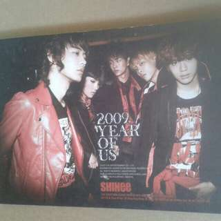 "Shinee ""2009:Year of Us"" CD"