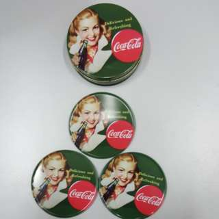 Coca Cola 4pce with box