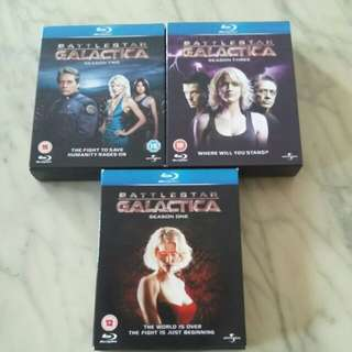 Season 1/2/3 *Battlestar Galactica* Complete Bluray Disc