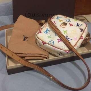 Lv multicolored sling bag