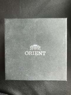 Authentic Orient luxury watch box