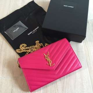 Ysl Chain on wallet 斜咩袋