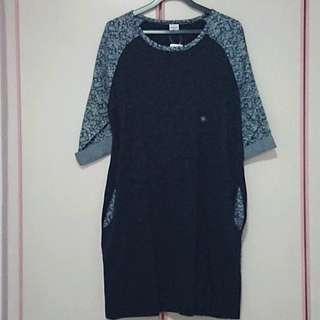 BNWT 50% Off Bossini Navy Blue Casual Dress