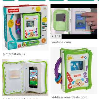 Fisher Price Apptivity Storybook Reader