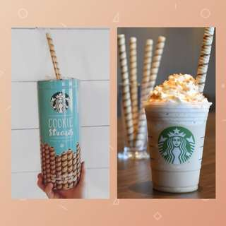 Starbucks Cookie Straws 💕