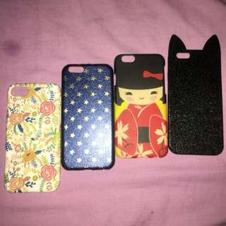 iPhone 6s/ 7 phone case SOLD AS SET