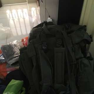Pre-owned Army Backpack