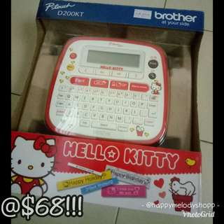 Clearance sale @$68! Hello Kitty brother labeller