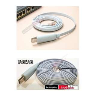 USB Cisco Router Console Cable Windows Macbook pro notebook