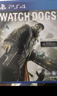 Watchdogs ps4 with free mailing