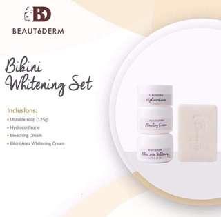 Bikini whitening set