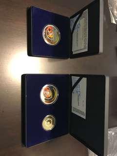 Bank Negara Arkib 60th anniversary commemorative coins