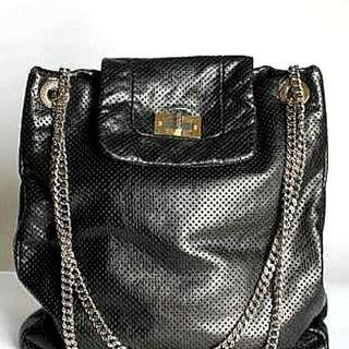 Reprice! Chanel Reissue Perforated Leather Drill Large Tote Bag