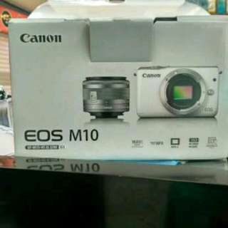Canon EOS M10 Kit 15-45mm Kredit Cepat
