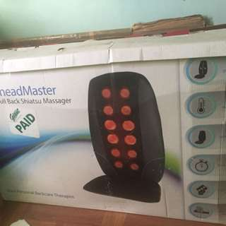 Cushion Back Massager