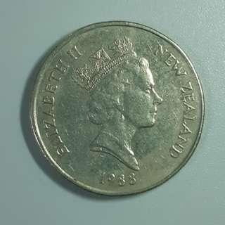 1988年 新西蘭 50