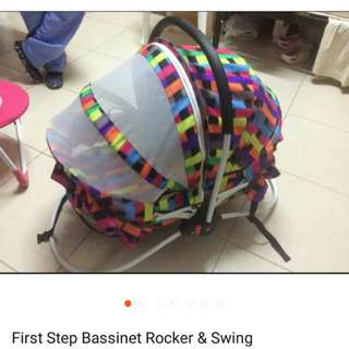 First Step Bassinet Rocker & Swing