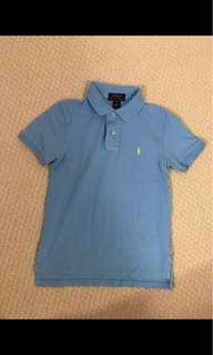 Baby Blue Ralph Lauren Polo Shirt