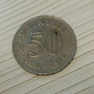 Old Coins 50$ 1988