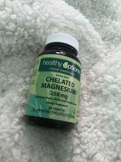 Healthy options Chelated Magnesium