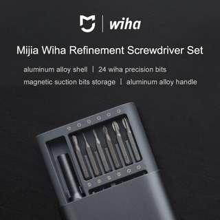 💖LOCAL SELLER💖[Xiaomi Wiha] 24 in 1 Precision Screwdriver Kit Super Useful Red Dot Award 1stshop