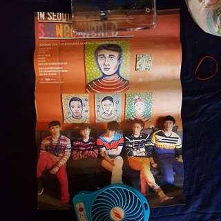 POSTERS - DEFQON SHINEE GOT7 BIG BANG