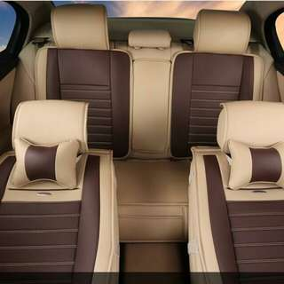 CAR SEAT LEATHER WRAP