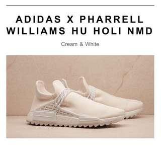 PHARRELL X ADIDAS NMD HU TRAIL HOLI blank canvas