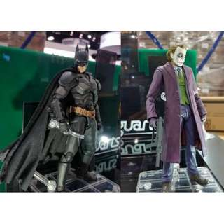 SHF S.H.Figuarts 蝙蝠俠 Batman The dark knight 黑夜之神 joker 小丑 全新 一對