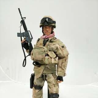 Custom 1/6 Scale Action Figure