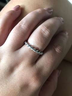 Pandora stacker ring 56
