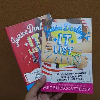 Jessica Darling's It List Series by Megan McCafferty