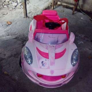 Disney motorized rechargeable Toy Car