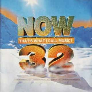 Now That's What I Call Music! 32 2CD (QUEEN, U2, OASIS, BLUR, PULP, RADIOHEAD, BEAUTIFUL SOUTH, SIMPLY RED, CAST, MEAT LOAF, PAUL WELLER, EVERYTHING BUT THE GIRL etc)